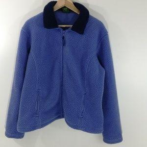 Cabelas Polartec Fleece Jacket Size XL Sherpa